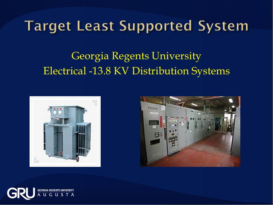 Georgia Regents University Electrical -13.8 KV Distribution Systems