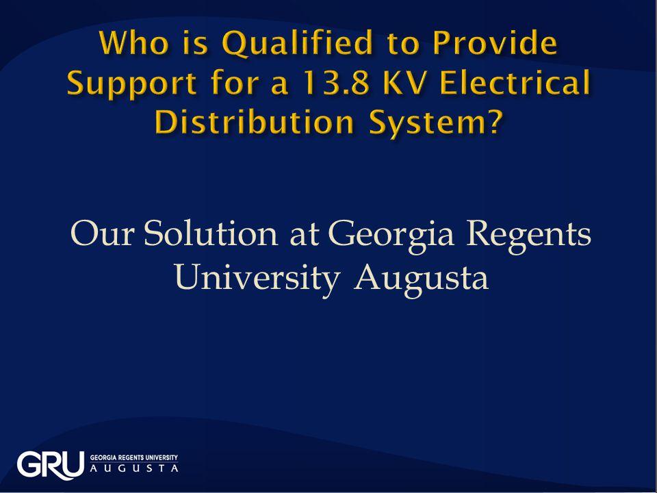 Our Solution at Georgia Regents University Augusta