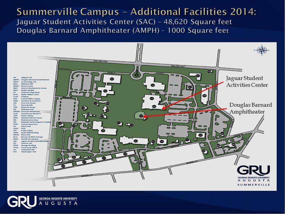Douglas Barnard Amphitheater Jaguar Student Activities Center