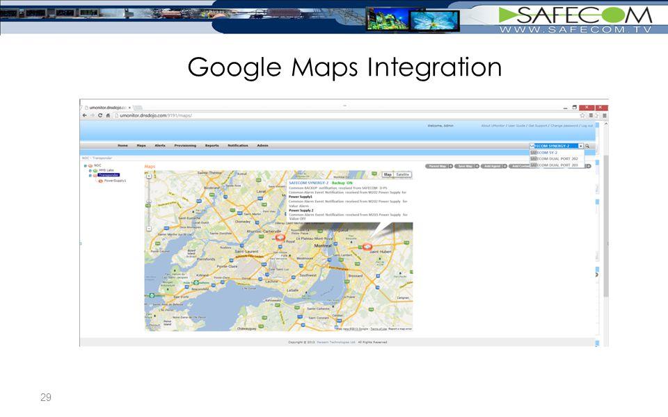 Google Maps Integration 29
