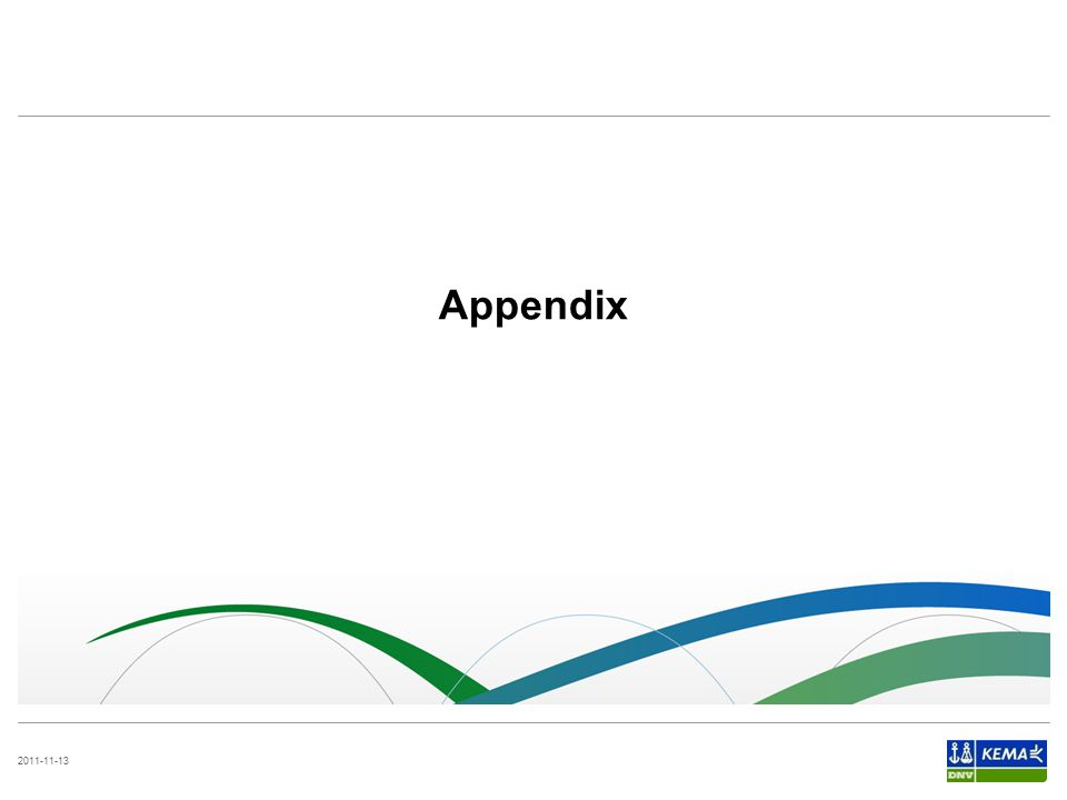 2011-11-13 Appendix