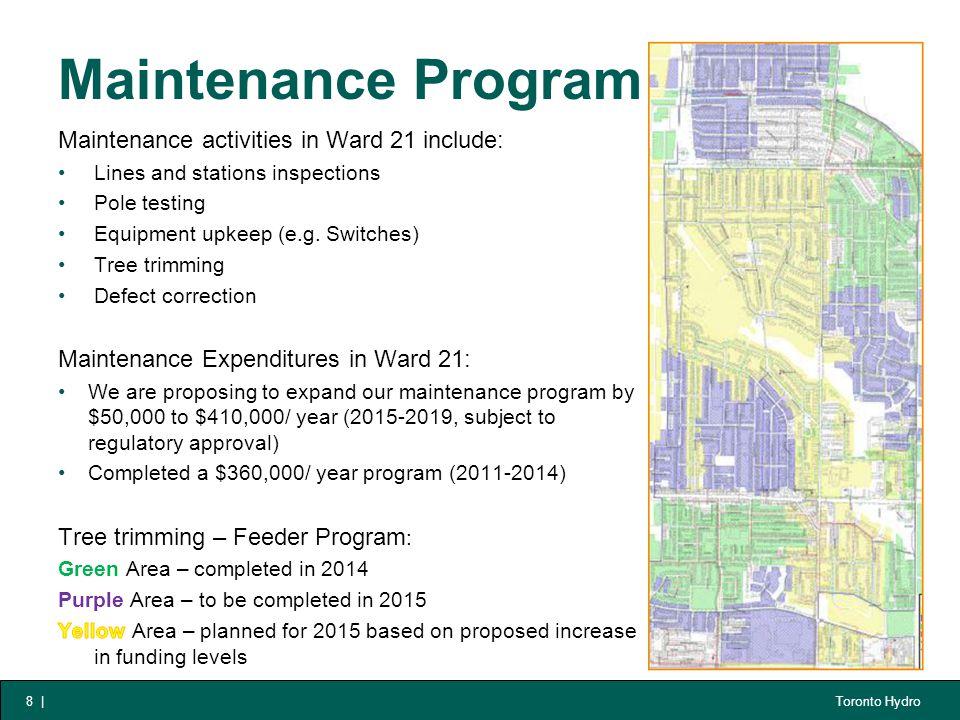 Toronto Hydro Maintenance Program 8  