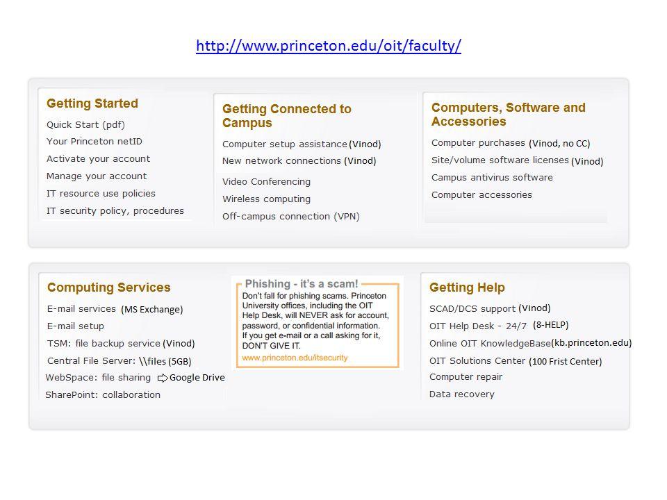 http://www.princeton.edu/oit/oitpubs/StaffQuickStart.pdf