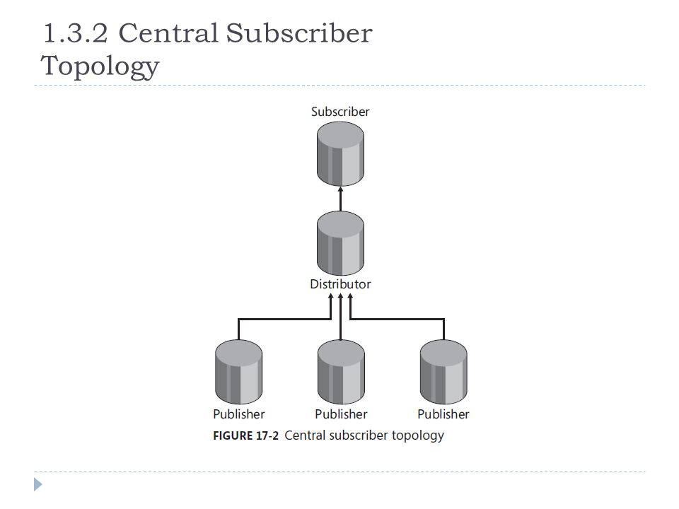 1.3.2 Central Subscriber Topology