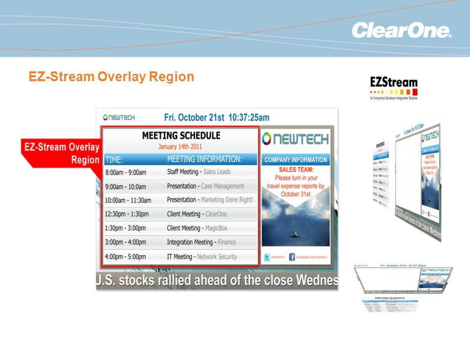 EZ-Stream Overlay Region