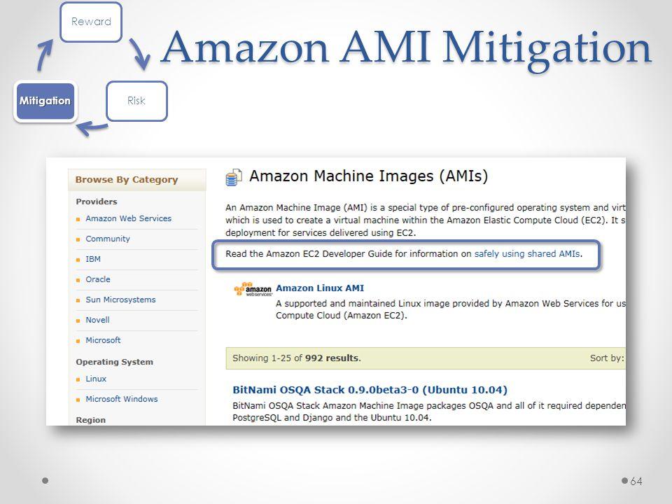 Amazon AMI Mitigation 64 RewardRiskMitigation