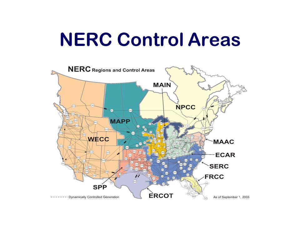NERC Control Areas