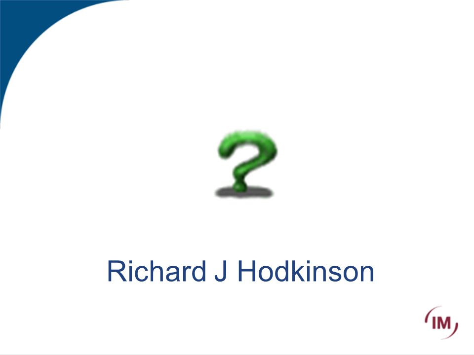 Richard J Hodkinson