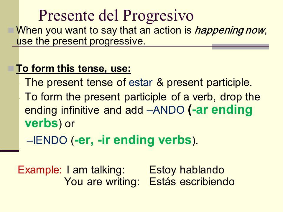 Examples: Yo (peinarse) = me peino Tú (dormirse) = te duermes Ellos (ponerse) = se ponen Nosotros (irse) = nos vamos