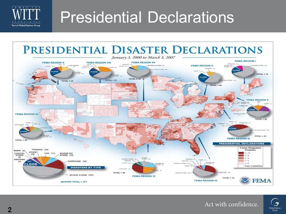 2 Presidential Declarations