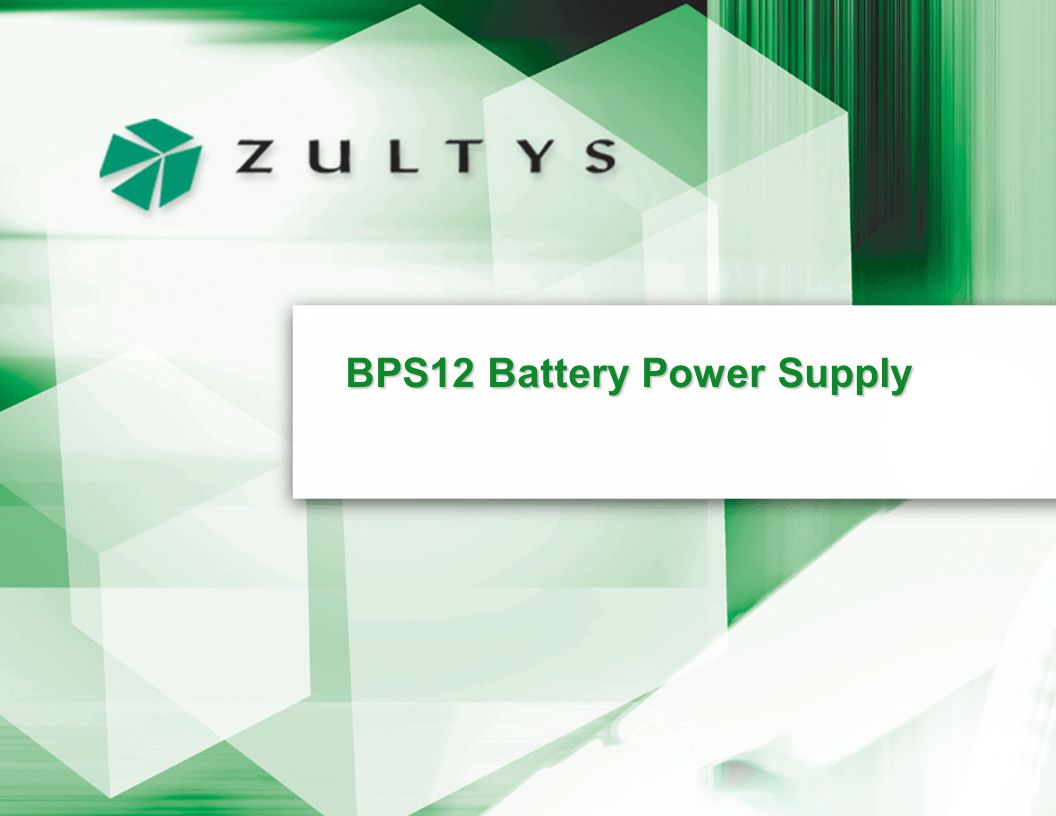 BPS12 Battery Power Supply