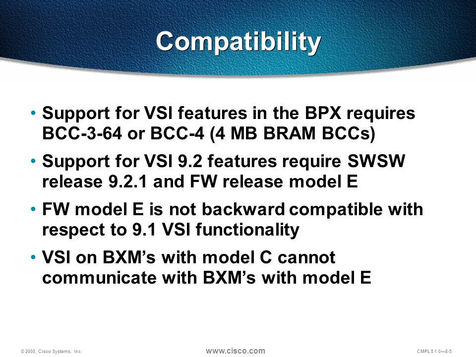 © 2000, Cisco Systems, Inc.www.cisco.com CMPLS 1.0—8-6 Procedure 1.