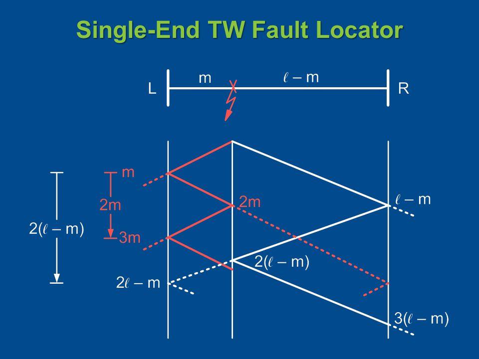Single-End TW Fault Locator