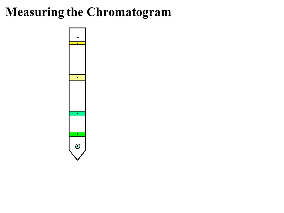 Measuring the Chromatogram