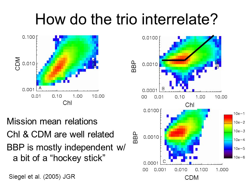 How do the trio interrelate. Siegel et al.