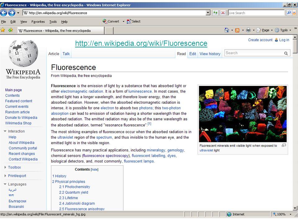 http://en.wikipedia.org/wiki/Fluorescence