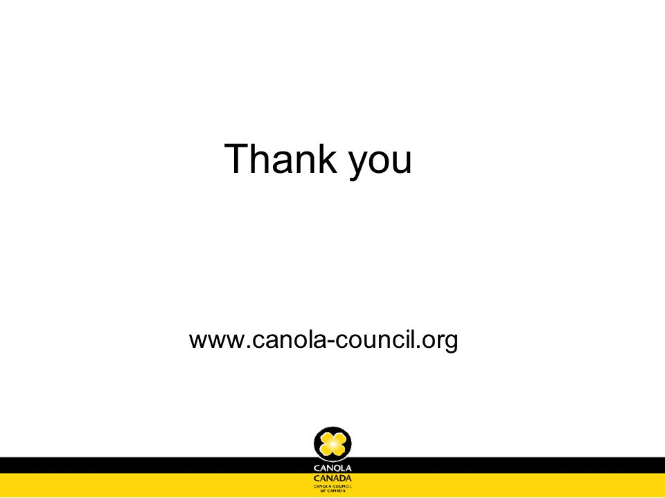 Thank you www.canola-council.org