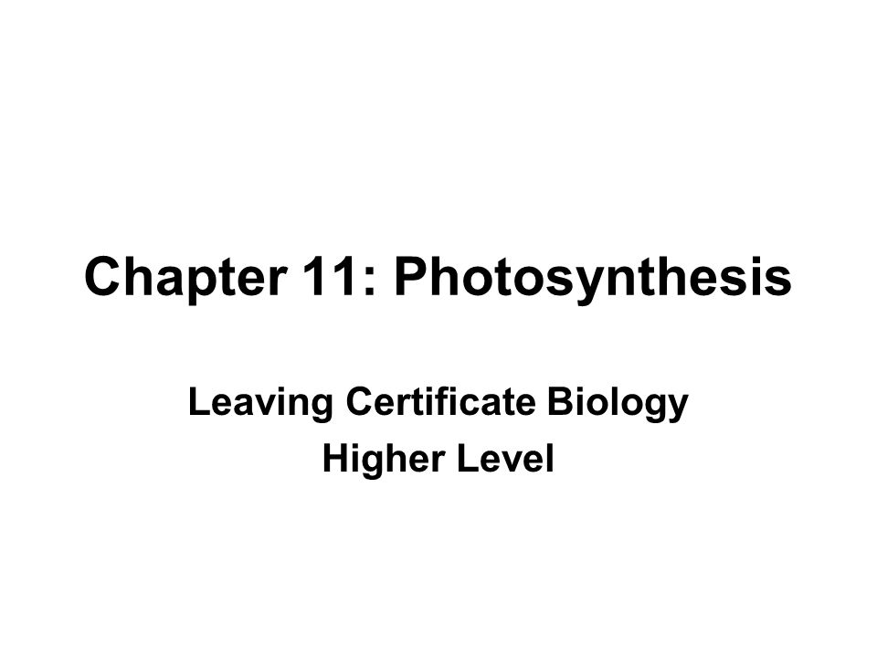 Photosynthesis Photosynthesis is the process of using sunlight energy and chlorophyll to produce glucose from carbon dioxide and water Carbon dioxide + water Chlorophyll Sunlight glucose + oxygen 6CO 2 + 6H 2 O Chlorophyll Sunlight C 6 H 12 O 6 + 6O 2