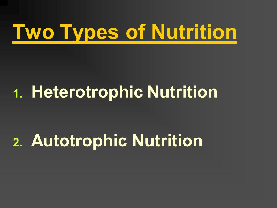 Nutrition The activities by which an organism obtains, processes, and uses food to carry on their life functions