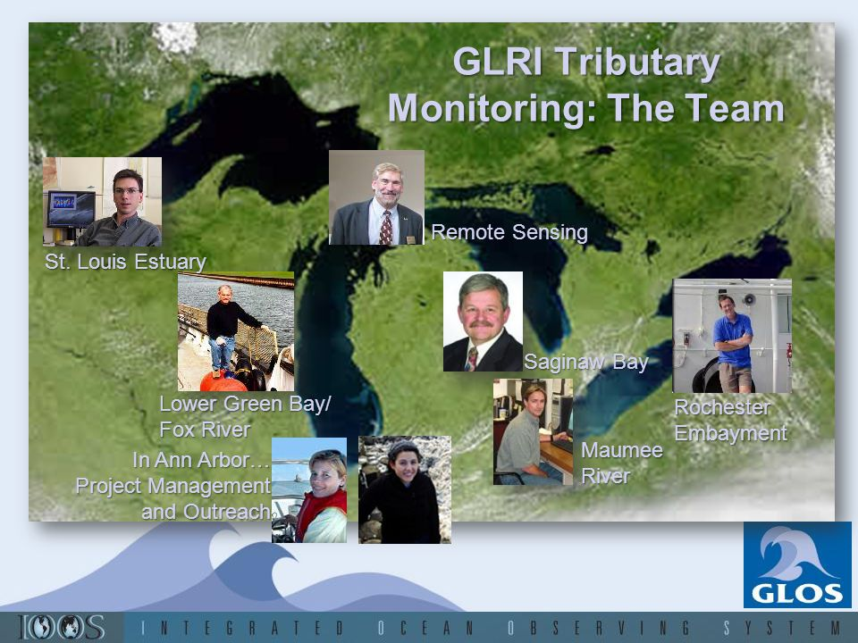 Goals Goal 1: Expand, enhance, and coordinate the Great Lakes network of monitoring and observing systems to provide a comprehensive assessment of the Great Lakes ecosystem.