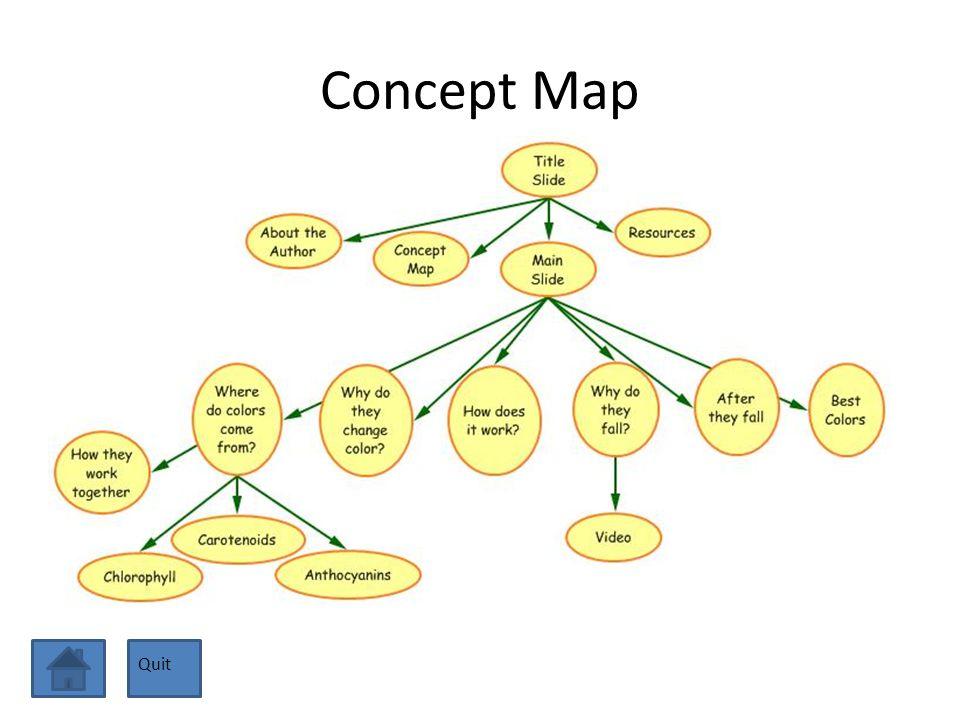Concept Map Quit