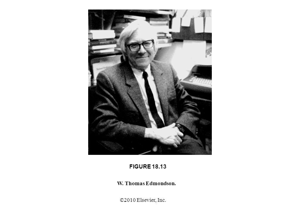 ©2010 Elsevier, Inc. FIGURE 18.13 W. Thomas Edmondson.