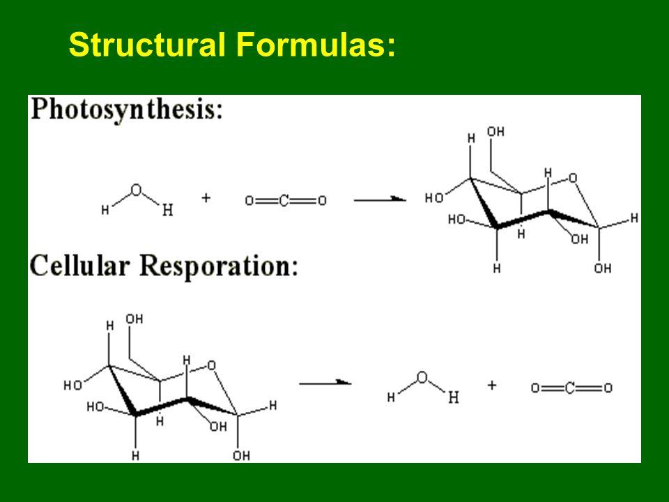 Structural Formulas:.