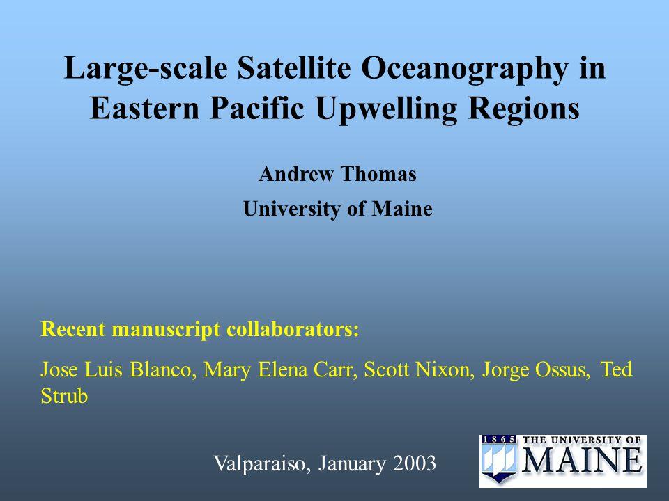 Anomaly Time Series 1997-98 Baja VS N.Chile (~28N-22 o S) Data: Height (SSH) & SST « @ 21 o N N.