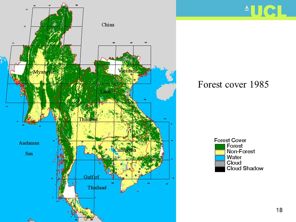 18 Forest cover 1985