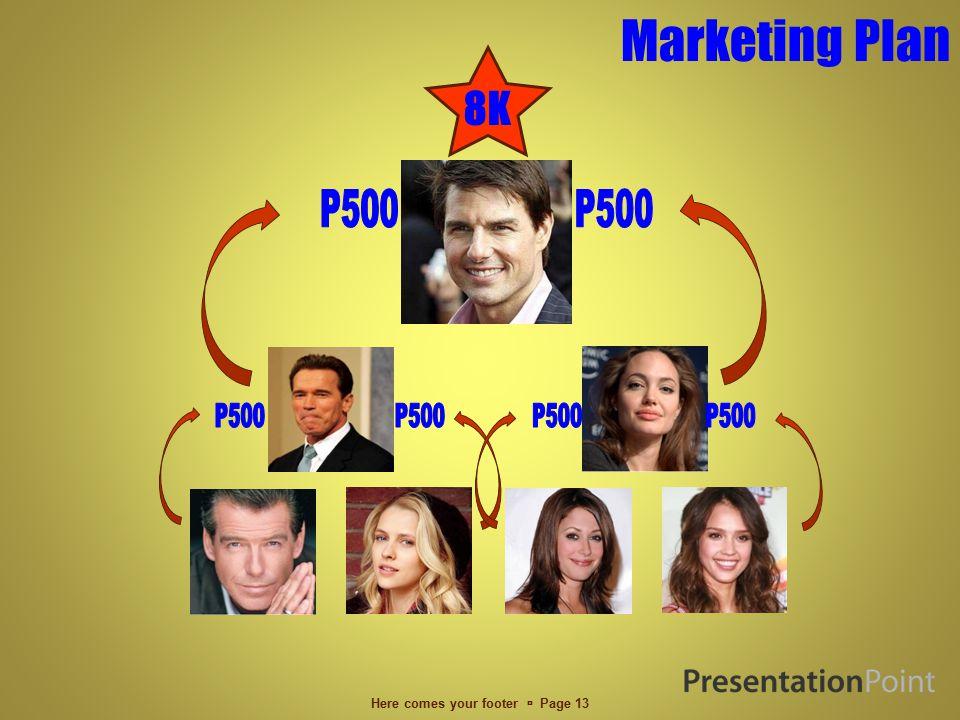 Marketing Plan Here comes your footer  Page 12 DIFFERENT WAYS TO FILL THE MATRIX 2X2 MATRIX 2X2 FOLLOW ME MATRIX SIDEWAYS SPILL DOWNWARD SPILL UPWARD SPILL