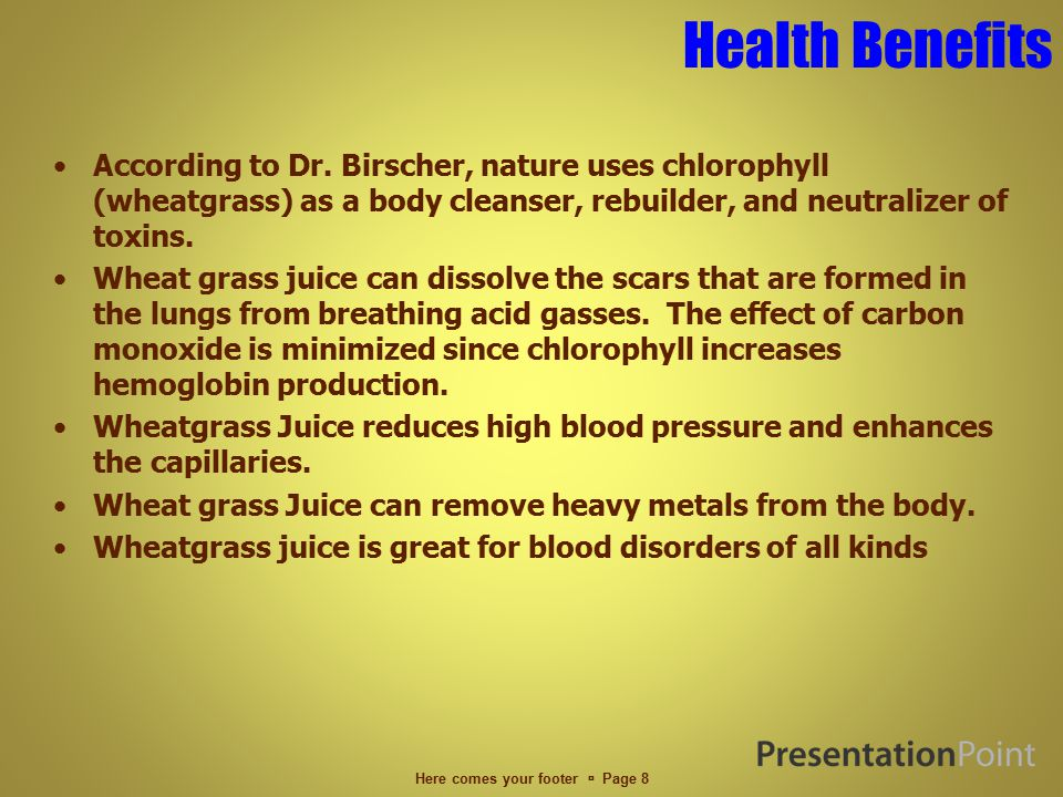 Health Benefits According to Dr.