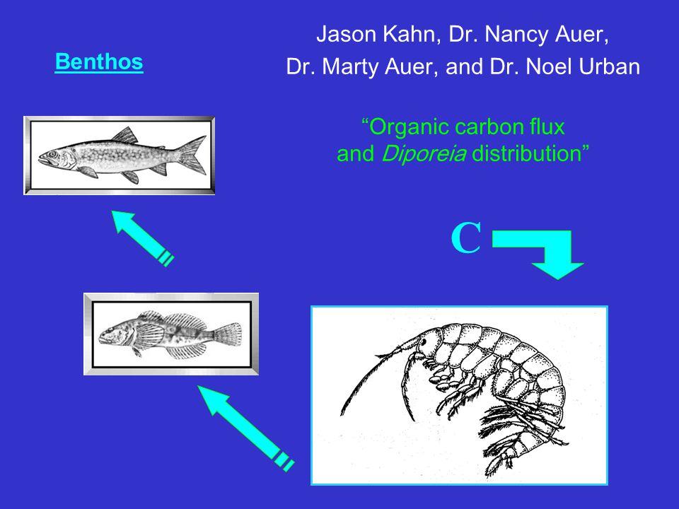 Benthos Jason Kahn, Dr. Nancy Auer, Dr. Marty Auer, and Dr.