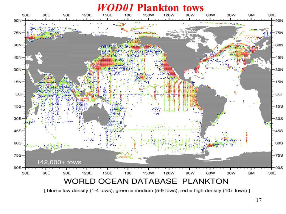 17 WOD01 Plankton tows
