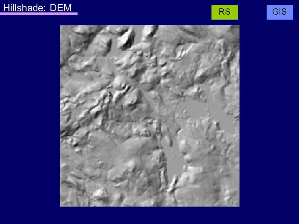 Hillshade: DEM GISRS