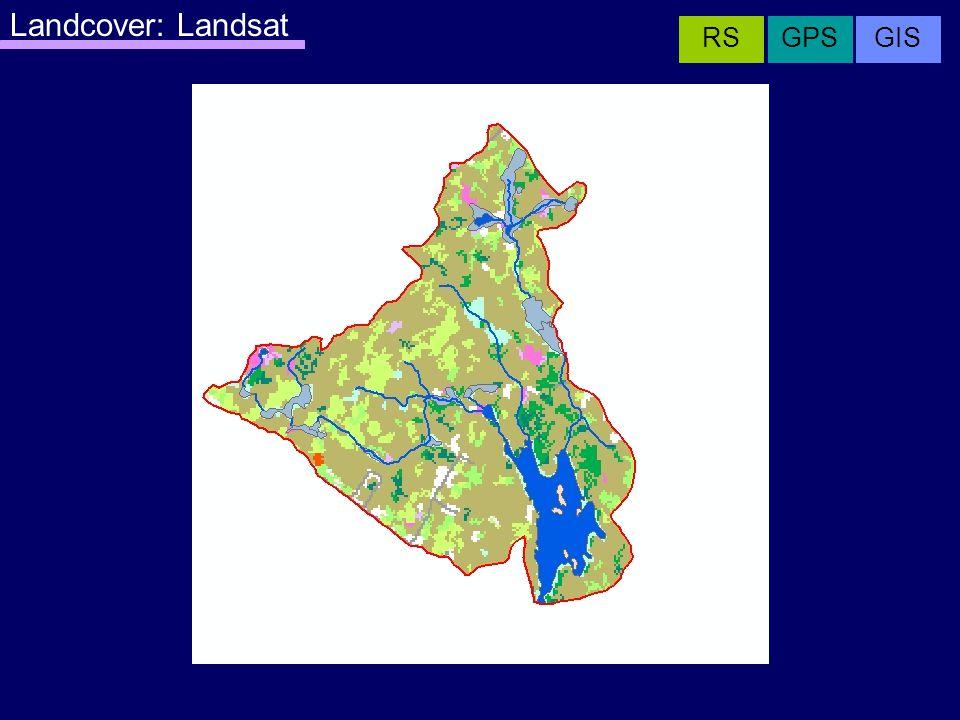 Landcover: Landsat GISRSGPS
