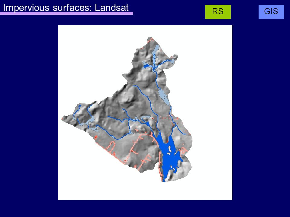 Impervious surfaces: Landsat GISRS