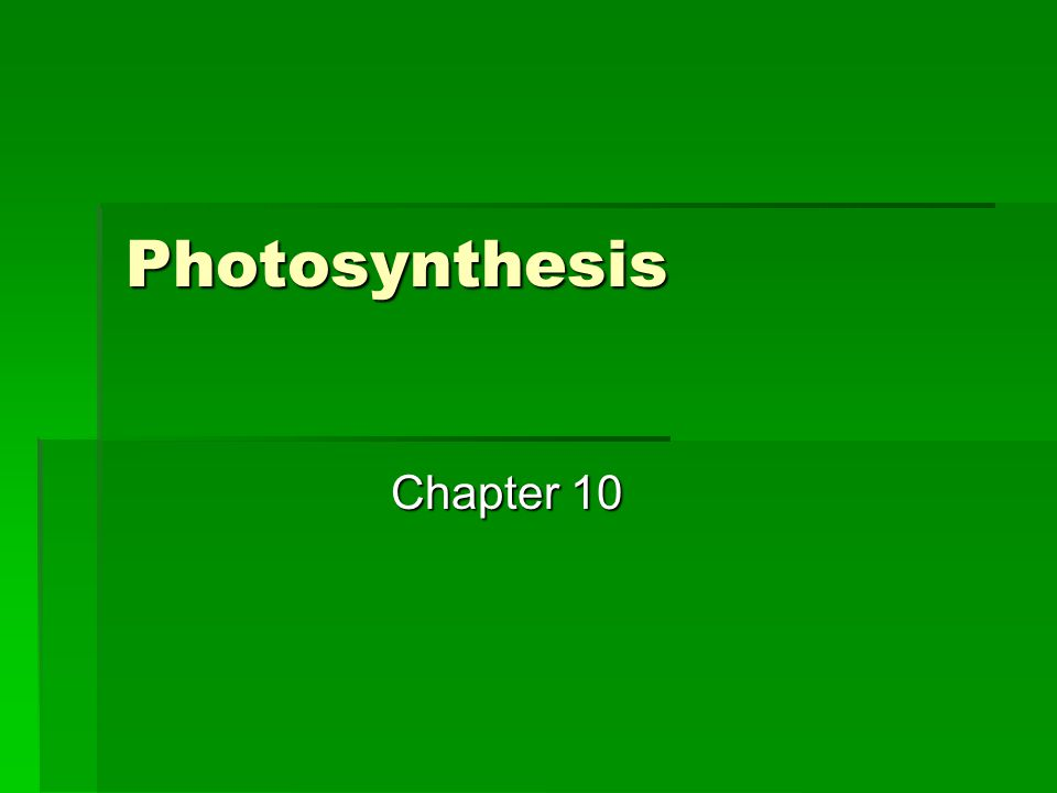 Cyclic Photo-phosphorylation  Involves only photosystem I and generates ATP without producing NADPH or evolving oxygen; this system probably evolved first.
