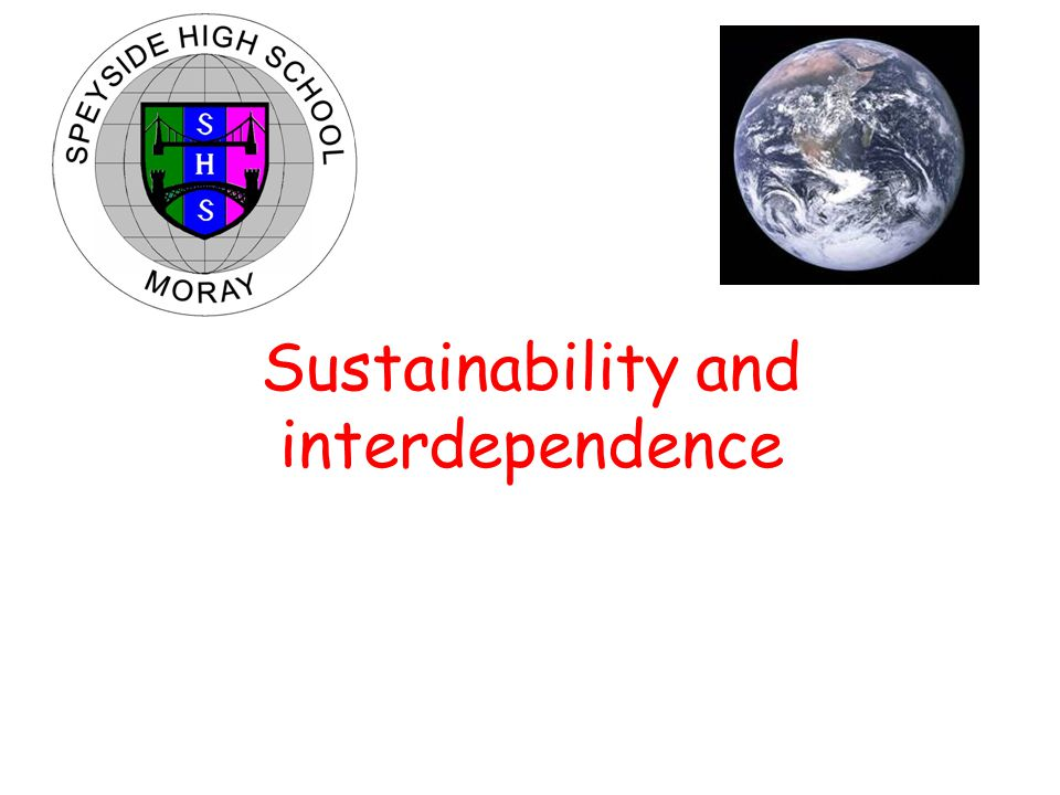 CFE Higher Biology Sustainability and interdependence Improving yields As the area of land suitable for growing crops is limited, agriculture can: 1.