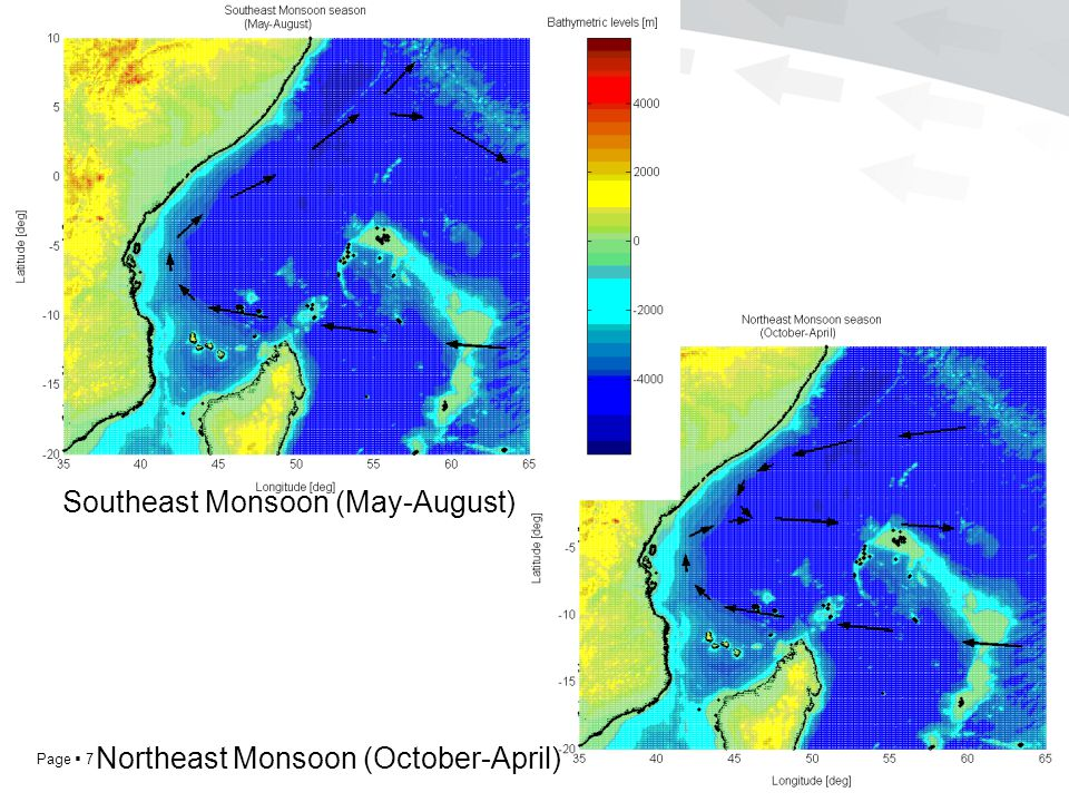 Page  7 Southeast Monsoon (May-August) Northeast Monsoon (October-April)