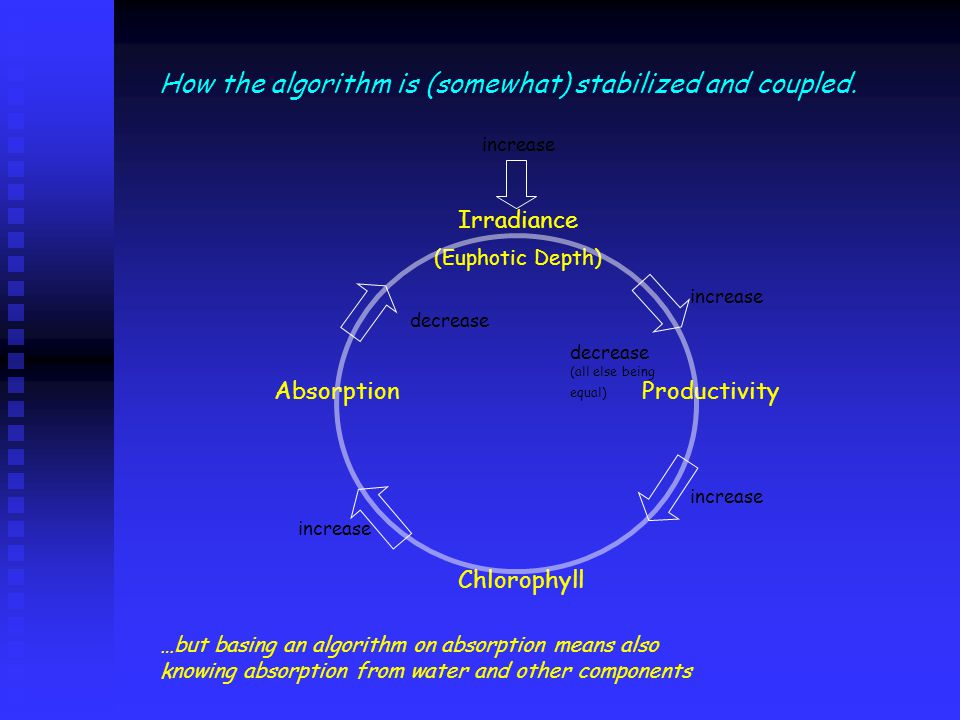 How the algorithm is (somewhat) stabilized and coupled.