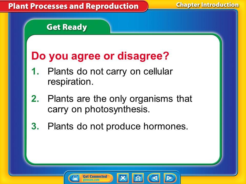 Lesson 2-4 Humans make plants more productive by using plant hormones.