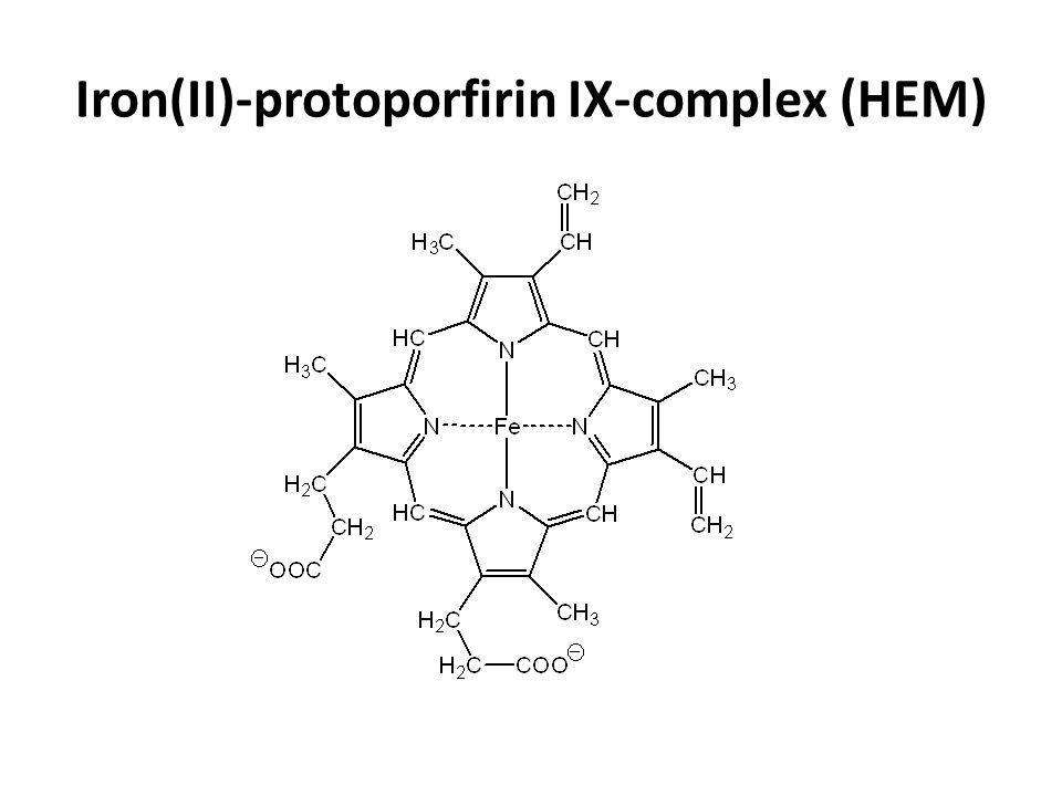 Iron(II)-protoporfirin IX-complex (HEM)