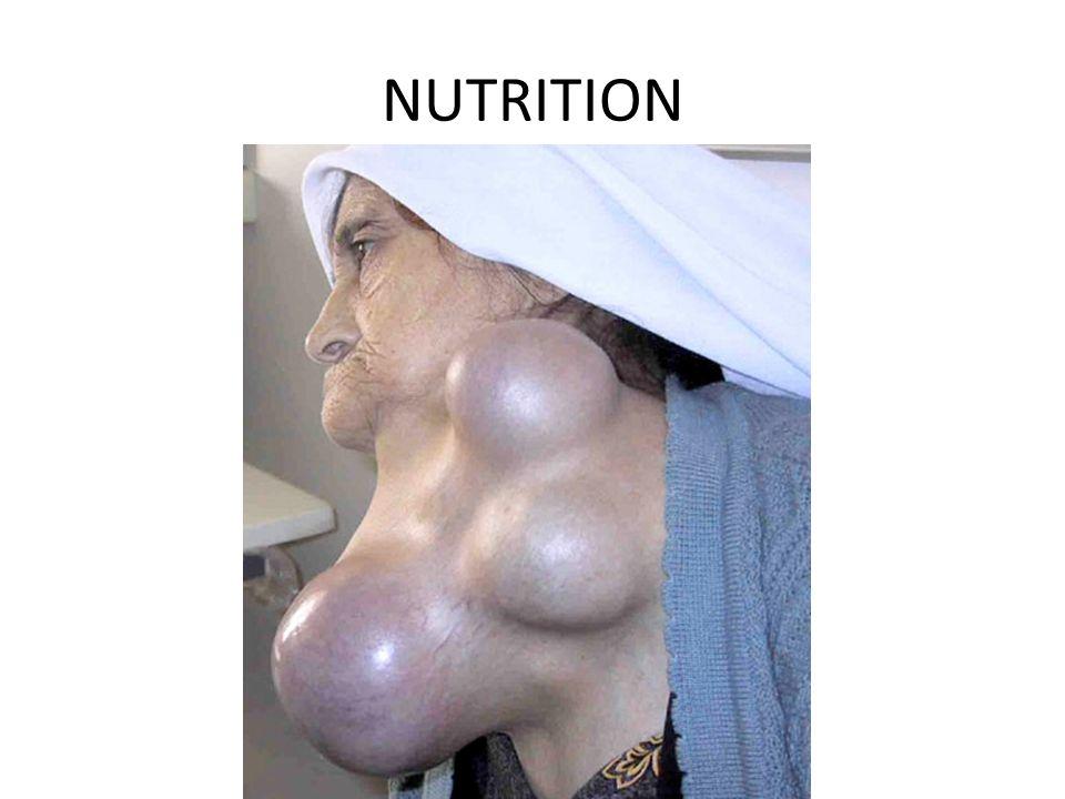 NUTRITION OUR NEXT REPRESENTATIVE ORGANISM