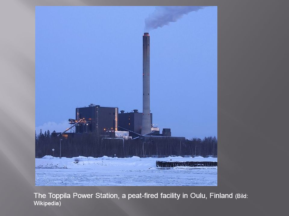 The Toppila Power Station, a peat-fired facility in Oulu, Finland (Bild: Wikipedia)