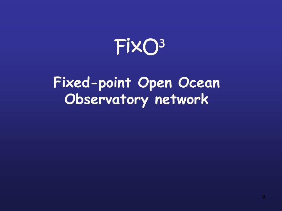 3 FixO 3 Fixed-point Open Ocean Observatory network