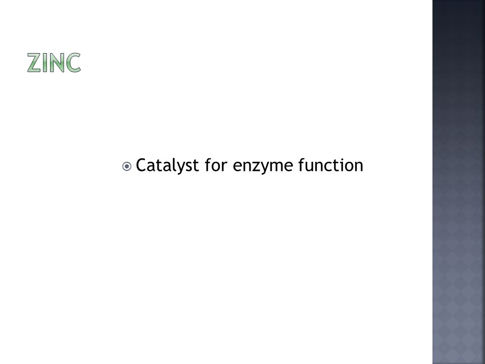  Catalyst for enzyme function