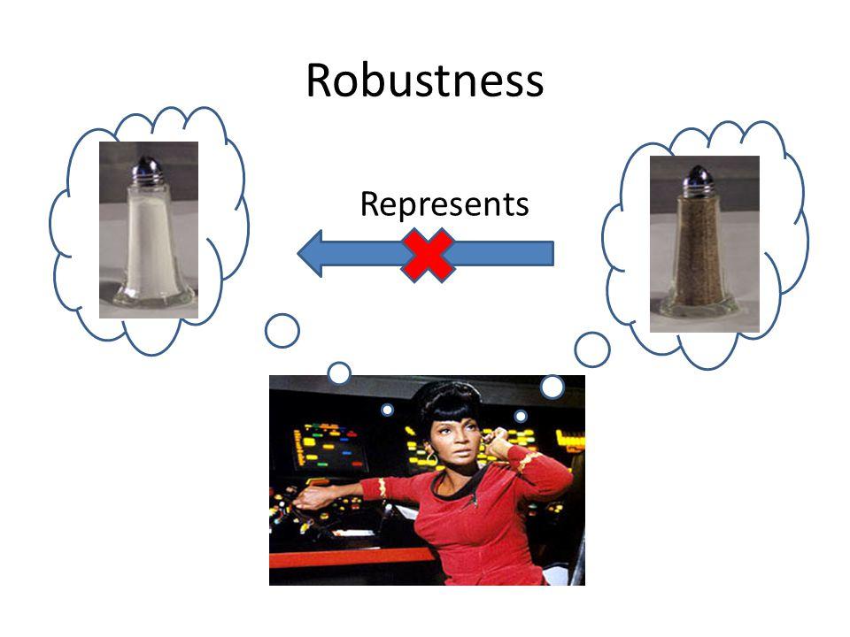 Robustness Represents