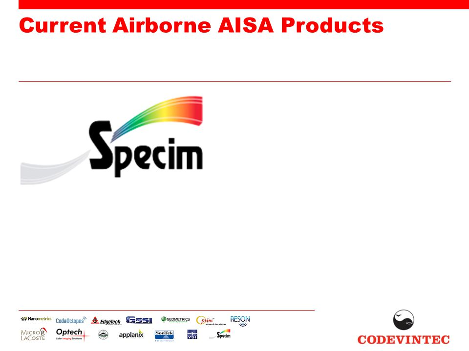 Current Airborne AISA Products