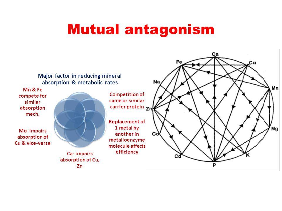 Mutual antagonism
