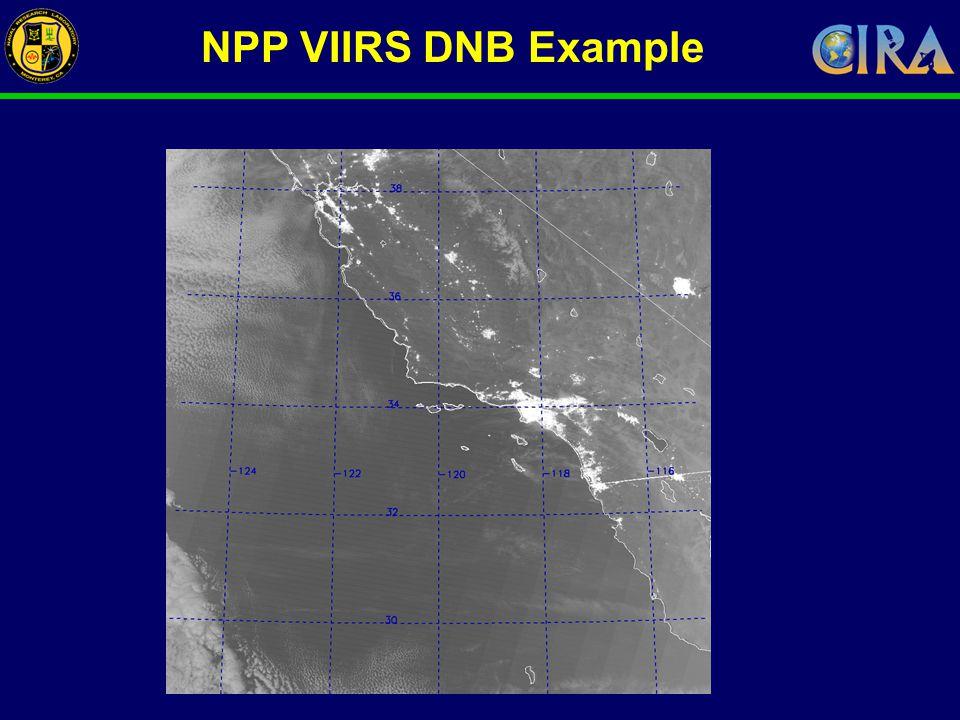 NPP VIIRS DNB Example